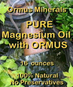 Ormus Minerals -Pure Magnesium Oil with ORMUS DEW
